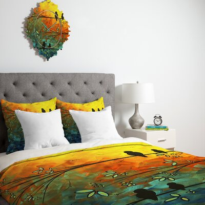 DENY Designs Madart Inc. Birds Of A Feather Duvet Cover Collection