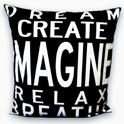 Uptown Artworks Imagine Pillow