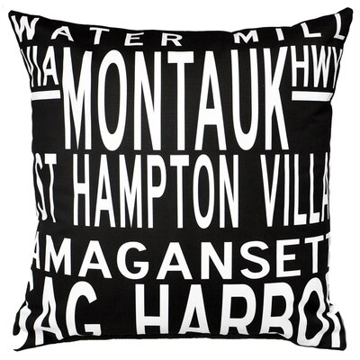 Uptown Artworks Hamptons 5 Line Pillow