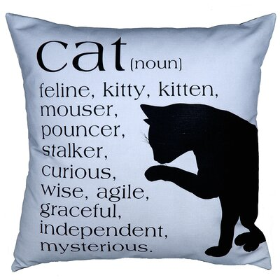 Uptown Artworks Cat Pillow