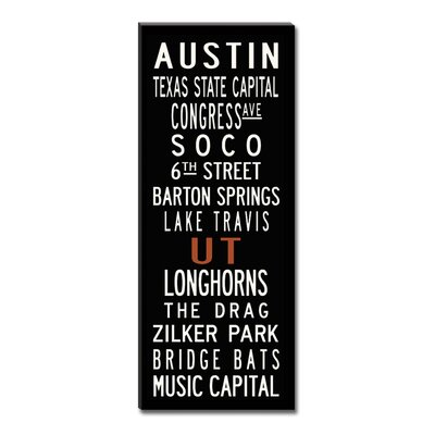 Uptown Artworks Austin Sign Art