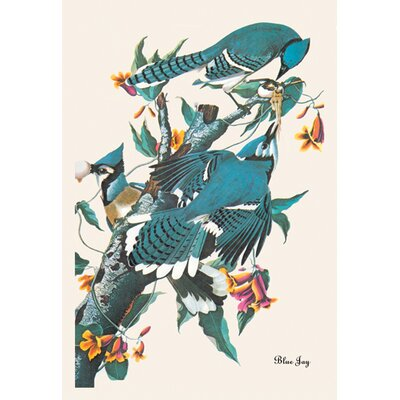 Buyenlarge Blue Jay Canvas Art