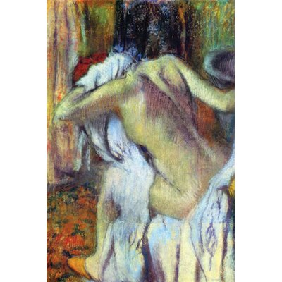 Buyenlarge After Bathing Painting Print on Canvas