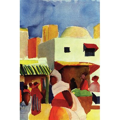 Buyenlarge Market in Algiers Canvas Art