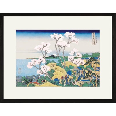 Cherry Blossom Festival Framed and Matted Print