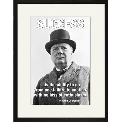 Buyenlarge Success is The Ability to Framed and Matted Print