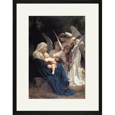 Song of the Angels Framed and Matted Print