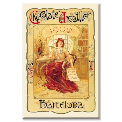 Buyenlarge Chocolate Amatller: Barcelona, 1902 Canvas Wall Art