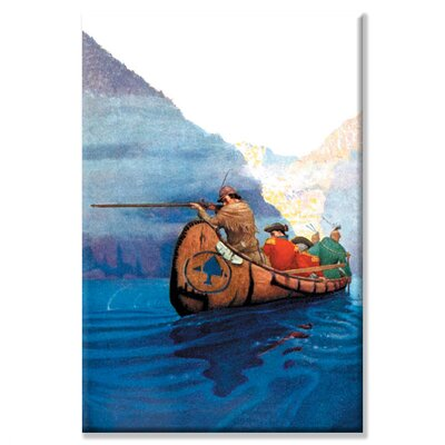 Race Across the Lake Canvas Wall Art