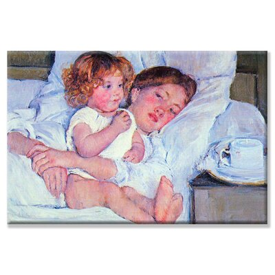 Buyenlarge Mother & Baby Canvas Wall Art