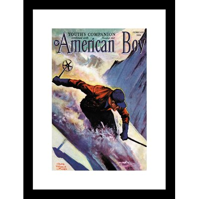 Buyenlarge American Boy February 1939 Framed and Matted Print