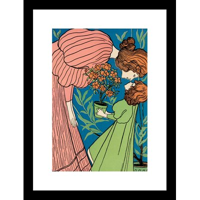 Buyenlarge Mother and Daughter Framed Graphic Art