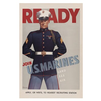Buyenlarge Ready Join U.S. Marines Canvas Art