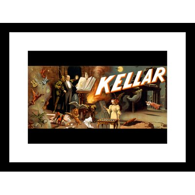 Kellar Menagerie of Tricks Framed Graphic Art