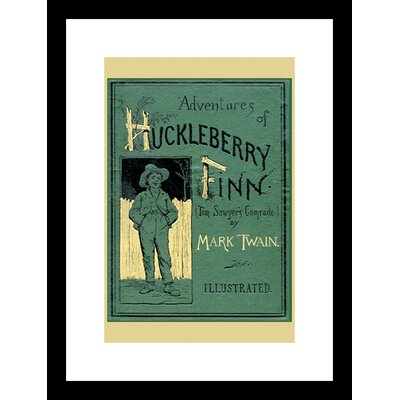 The Adventures of Huckleberry Finn Framed Graphic Art