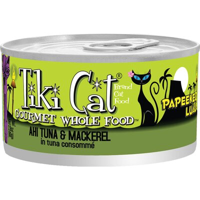 Tiki Cat Papeekeo Luau Ahi Tuna and Mackerel Consomme Cat Food