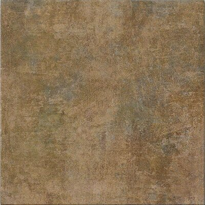 "Marca Corona Reactions 4"" x 4"" Glazed Porcelain Field Tile in Green"