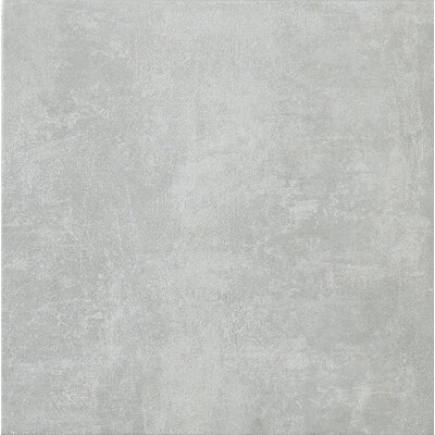 "Marca Corona Reactions 18"" x 18"" Glazed Porcelain Field Tile in Grey"