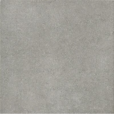 "Marca Corona Natural Living 12"" x 12"" Porcelain Field Tile in Grey"