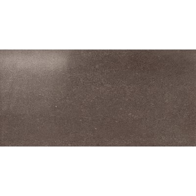 "Marca Corona Ecoliving 24"" x 12"" Semi Polished Porcelain Field Tile in Brown"