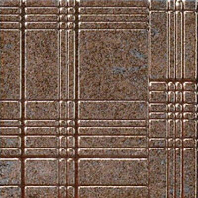 "Marca Corona Reactions 4"" x 4"" Porcelain in Brown (Set of 3)"