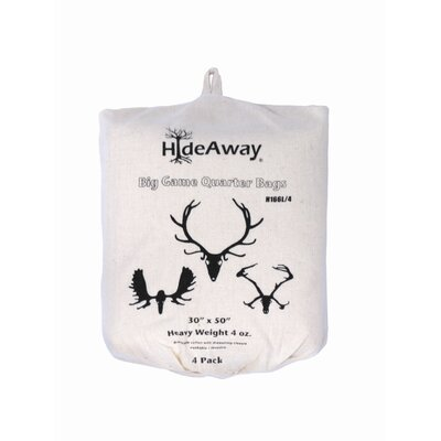 HideAway Big Game Heavyweight Quarter Bag (Set of 4)
