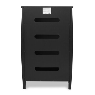 Wildon Home ® Hillside Multimedia Storage Rack