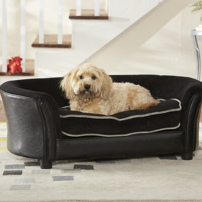 Enchanted Home Pet Ultra Plush Large Panache Dog Sofa