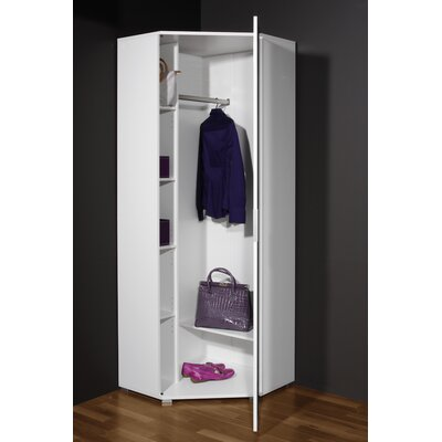 Chessar corner wardrobe wayfair uk - Corner wardrobe design ...