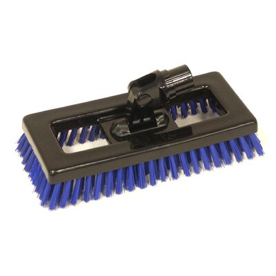 Syr Swivel Deck Brush BLK Bristles