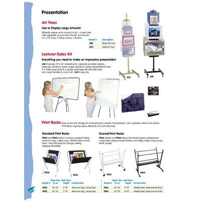 Testrite Enamel Print Rack