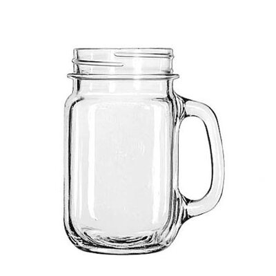 <strong>Libbey</strong> Mugs and Tankards 16.5 oz. Drink Jar (Set of 12)