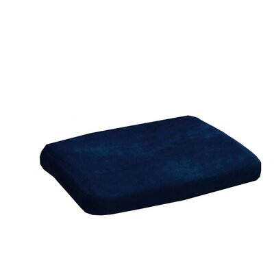 Essential Medical Memory PF Molded Wedge Cushion in Navy
