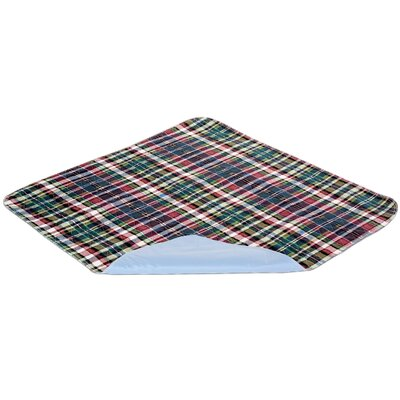 Essential Medical Quik Sorb Plaid Underpad