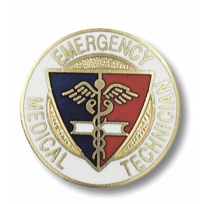 Prestige Medical Emergency Medical Technician Emblem Pin