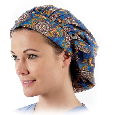 Prestige Medical Nurse's Bouffant Style Scrub Caps