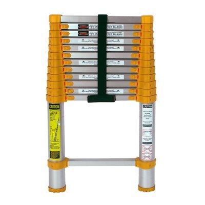 12 5 telescoping extension ladder features ladder aluminium