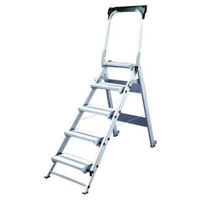 Xtend+Climb Xtend and Climb 5-Step Folding Safety Step Stool
