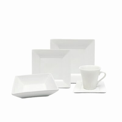 White Basics Mondo Dinnerware Set