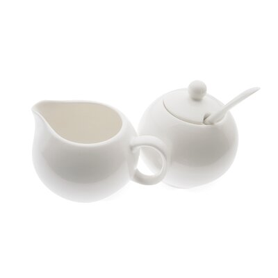 Maxwell & Williams White Basics European Sugar and Cream Set