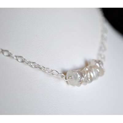 AEB Designs Keishi Pearl Swing Necklace