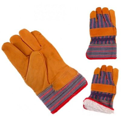 "Jemcor 2.5"" Band Sherpa Lined L Work Glove"
