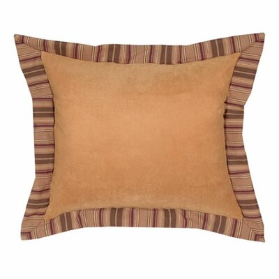 Wooded River Autumn Leaf Alternative Euro Sham