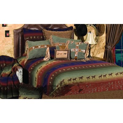 Wooded River Mustang Canyon 4 Piece Bedding Set