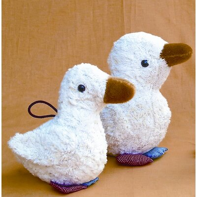 Challenge & Fun Kallisto Duck Organic Stuffed Animal with Music Box