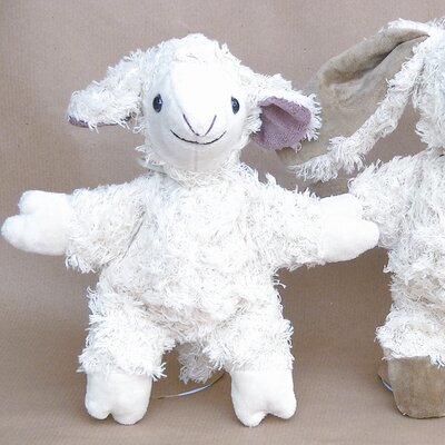 Challenge & Fun Kallisto Lamb Organic Stuffed Animal