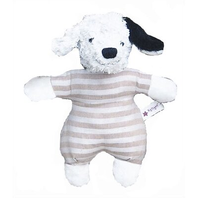 Challenge & Fun Kallisto Dog Baby Rattle Organic Stuffed Animal