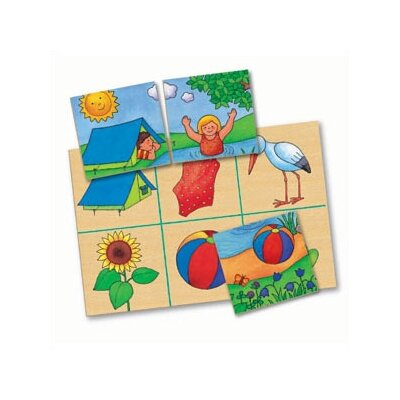 Challenge & Fun Four Seasons Lotto Memory Game