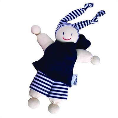 Keptin-Jr Organic Boyo Caucasian Doll in Blue