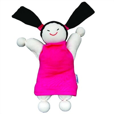 Keptin-Jr Organic Caucasian Girly Doll in Pink